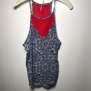 Tops - Lucky Brand tank top size M Patriotic